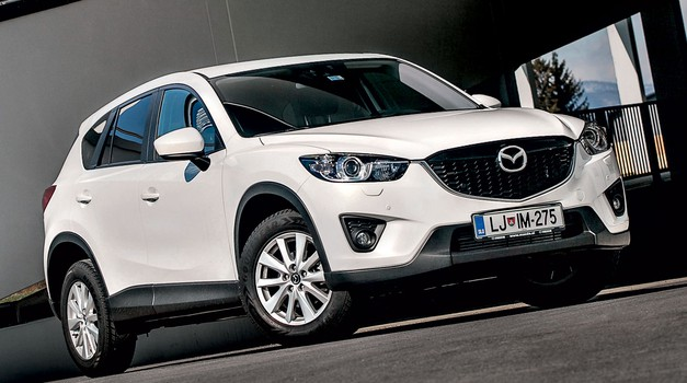 Kratki test: Mazda CX-5 CD150 Attraction (foto: Aleš Pavletič)