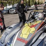 Loeb si je ogledal Dumasov dirkalnik (foto: Red Bull)