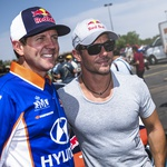 Millen in Loeb (foto: Red Bull)
