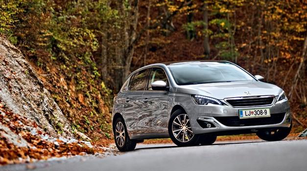 Test: Peugeot 308 1.6 e-HDi 115 Allure (foto: Saša Kapetanovič)