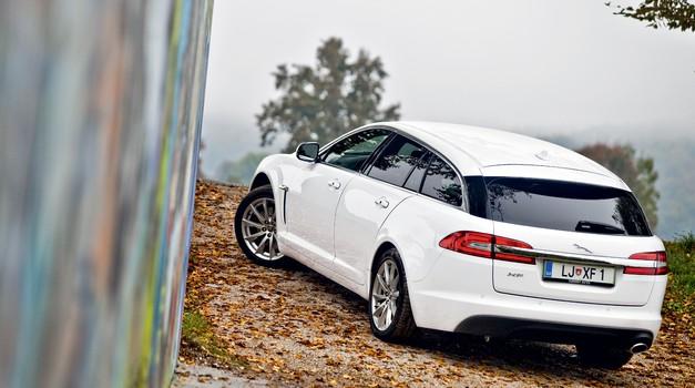 Na kratko: Jaguar XF Sportbrake 2.2D (147 kW) Luxury (foto: Saša Kapetanovič)