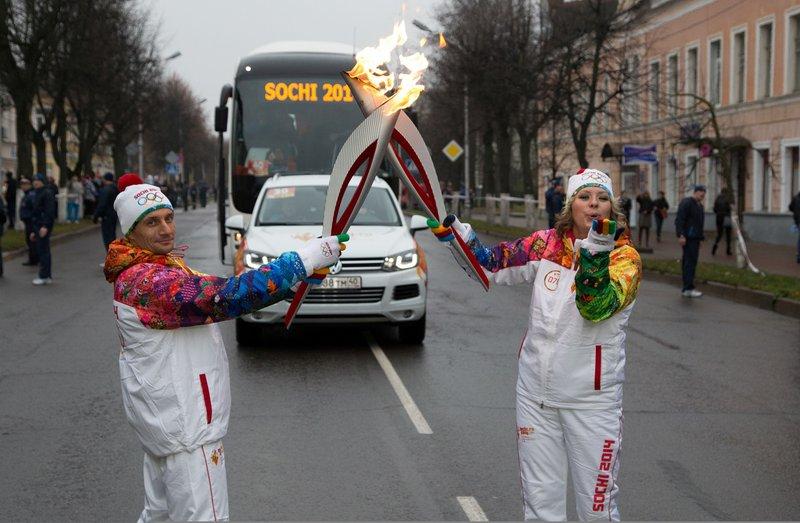 Prenos olimpijskega ognja