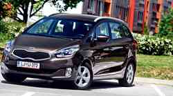 Test: Kia Carens 1.7 CRDi (85 kW) LX Family