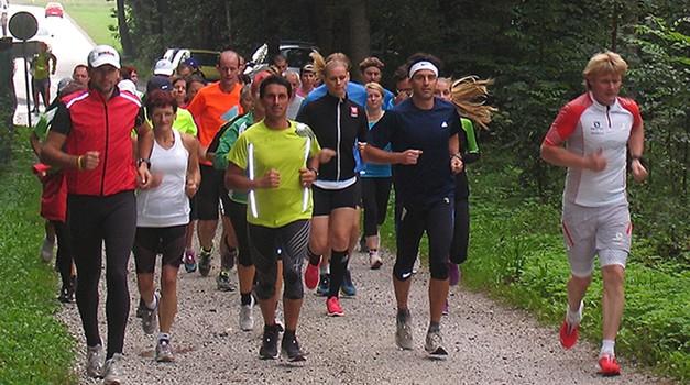 V družbi slovenskih športnikov na 3. Triglav tek (foto: Arhiv www.triglavtek.si)
