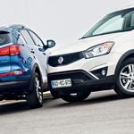 Primerjalni test: Kia Sportage 1.7 CRDi in SsangYong Korando 2.0 Xdi AWD (foto: Saša Kapetanovič)