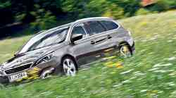 Kratki test: Peugeot 308 SW 1.6 e-HDi 115 Allure