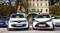 Primerjalni test: Hyundai i10, Renault Twingo, Toyota Aygo, Volkswagen Up!