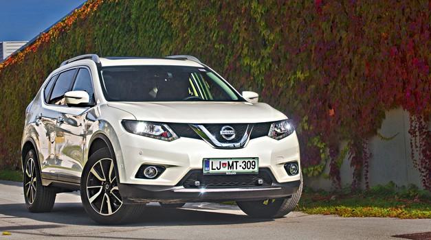 Test: Nissan X-Trail 1.6 dCi X-Tronic 2WD Tekna (foto: Saša Kapetanovič)