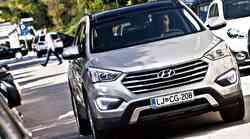 Kratki test: Hyundai Grand Santa Fe 2.2 CRDi 4WD Impression
