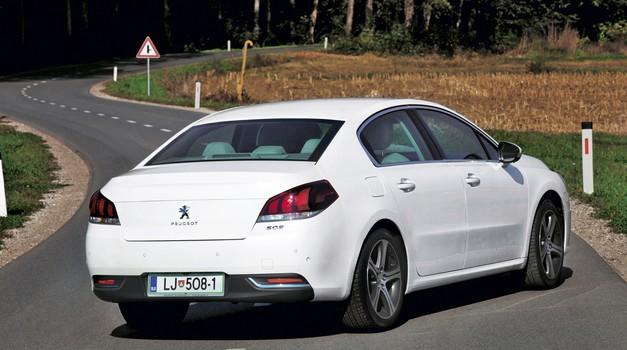 Kratki test: Peugeot 508 2.0 BlueHDi 180 Allure (foto: Saša Kapetanovič)