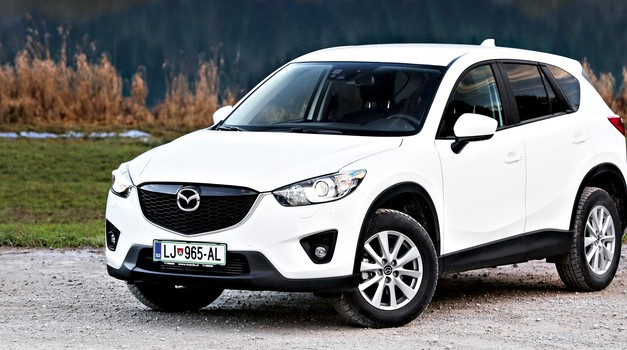 Kratki test: Mazda CX-5 CD150 AWD Attraction (foto: Uroš Modlic)