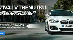 UŽIVAJ V TRENUTKU - Spoznaj novi BMW serije 1 in osvoji razkošne NAGRADE