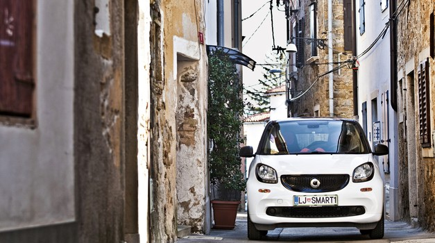 Test: Smart fortwo (52 kW) Passion (foto: Saša Kapetanovič)