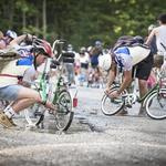 Naskok 284 srčnih kolesarjev na Vršič uspel (foto: Stefan Volti, Stanko Gruden, Red Bull)