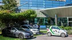 Polnilna postaja za električne avtomobile tudi v Hotelih Bernardin