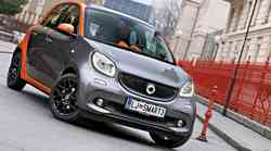 Kratki test: Smart forfour (52 kW) Edition 1