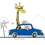 Domači ljubljenčki se v avtomobilu ne smejo prosto gibati! (foto: Goodyear)