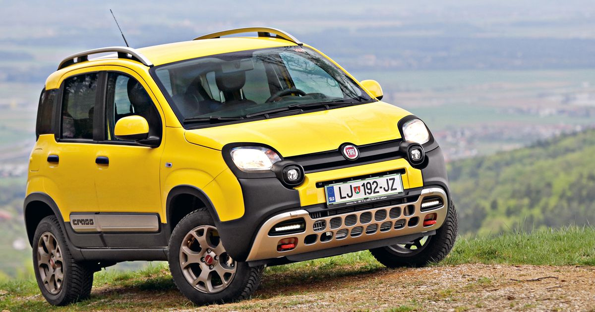 fiat panda 4x4 cross 2015 test. Black Bedroom Furniture Sets. Home Design Ideas