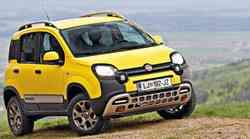 Kratki test: Fiat Panda 4x4 1.3 Multijet 16V 80 Cross