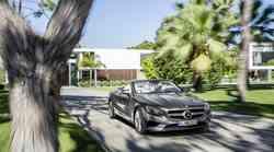 Mercedes-Benz Razreda S Cabriolet: razkošje z odprto streho