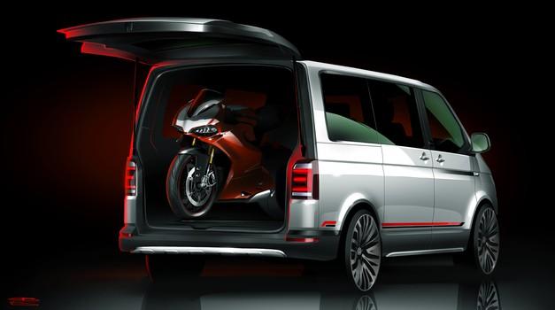 Volkswagen Multivan PanAmericana - namenjen motociklistom (foto: Volkswagen)
