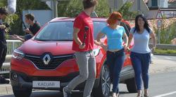 Adrenalinska presenečenja z avtomobilom Renault Kadjar