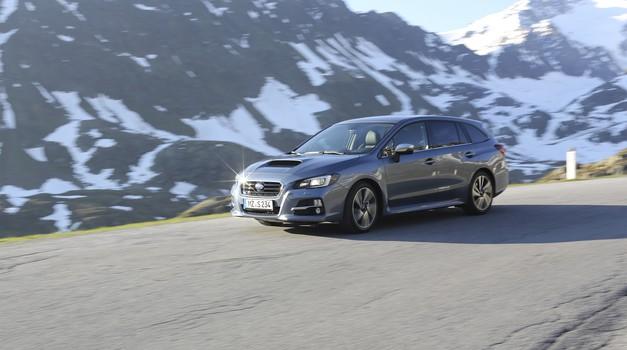 Novo v Sloveniji: Subaru Levorg (foto: Subaru)