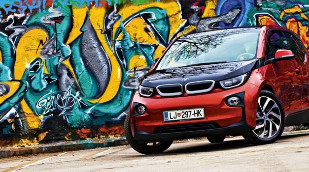 Test: BMW i3 (foto: Saša Kapetanovič)