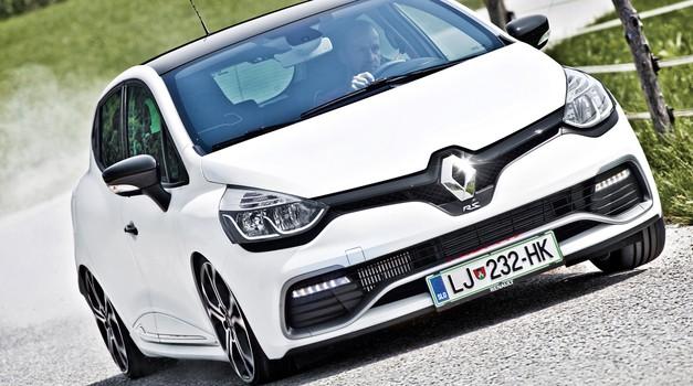 Kratki test: Renault Clio R.S. 220 EDC Trophy (foto: Saša Kapetanovič)