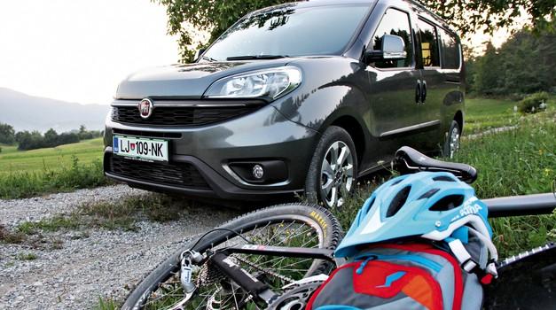 Na kratko Fiat Doblo Cargo Combi 2.0 Multijet 16V Maxi SX (foto: Peter Kavčič)