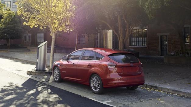 Ford Focus Electric s povečanim dosegom (foto: Ford)
