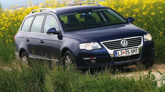 RABLJEN AVTO: VOLKSWAGEN PASSAT (2005‒2010): Najbolj slovenski rabljen avto