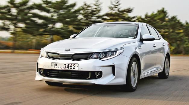 Kia Optima/ Hybrid/Plug-in Hybrid: Zadovoljitev vseh potreb (foto: Kia)