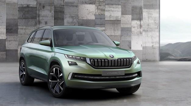 Škoda Vision S s hibridnim pogonom (foto: Škoda)