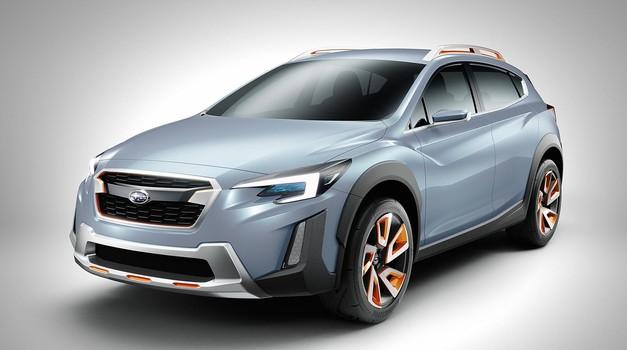 Subaru XV Concept kot napoved Subarujevega oblikovanja (foto: Subaru)