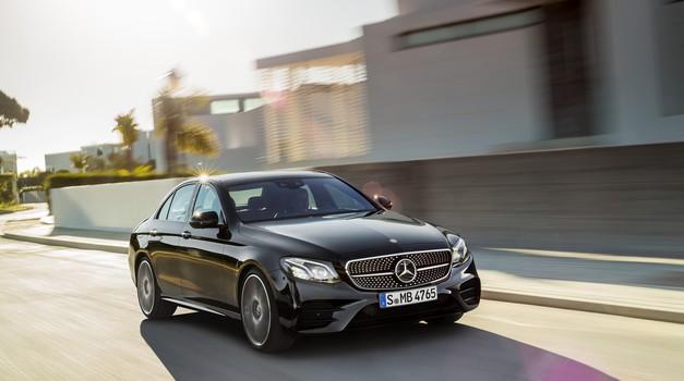 AMG-jev Mercedes-Benz razreda E (foto: Daimler)