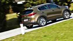 Kia Sportage 2.0 CRDi AWD A/T EX Sense