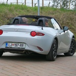 Novo v Sloveniji: Mazda MX-5 (foto: Matija Janežič)