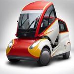 Murrayev  koncept mestnega avtomobila v novi izvedbi s Shellovo pomočjo (foto: Shell)
