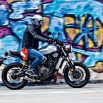 Test: Yamaha XSR 700 (foto: Saša Kapetanovič)