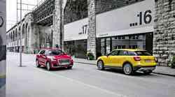 Bi virtualni kokpit? V Slovenijo je pripeljal mali mestni terenec Audi Q2