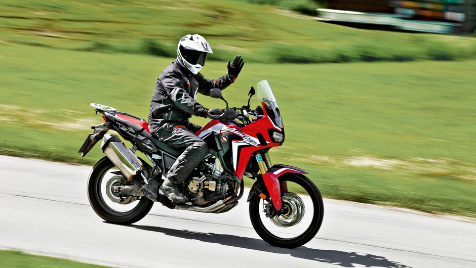 Moto test: Honda CRF 1000 L Africa Twin DCT