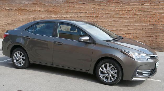 Novo v Sloveniji: Toyota Corolla (foto: Matija Janežič)