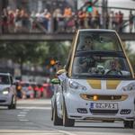 Več kot 1.600 Smartov  na paradi v Hamburgu (foto: Daimler)
