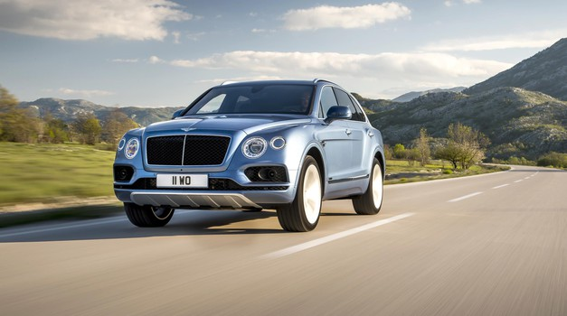 Bentley Bentayga je dobil dizelski motor (foto: Bentley)