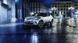Toyota H-CR bo opremljena s sodobnim hibridnim pogonom