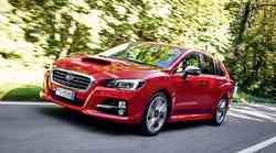 Subaru Levorg: Vidi v barvah
