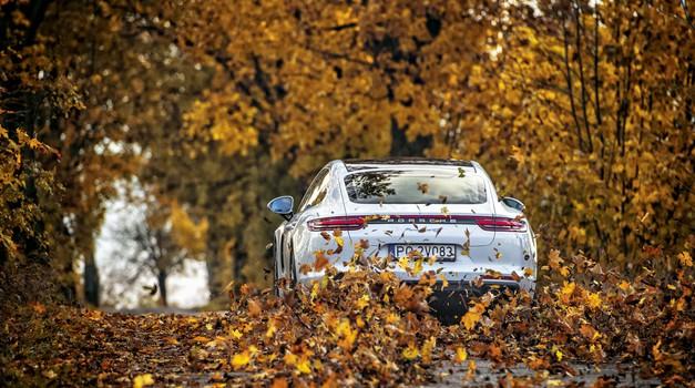 Porsche Panamera: Turbo časi