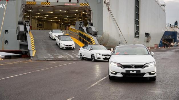 Vendarle: Honda Clarity Fuel Cell prihaja v Evropo (foto: Honda)
