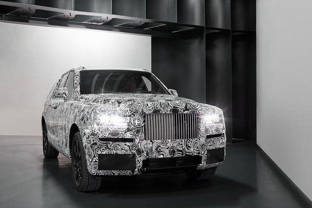Rolls-Royceov prestižni športni terenec se bliža uresničitvi (prve fotografije) (foto: Rolls-Royce)